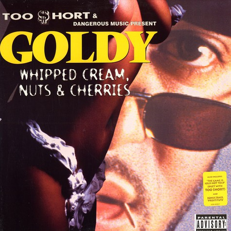Goldy - Whipped cream, nuts & cherries