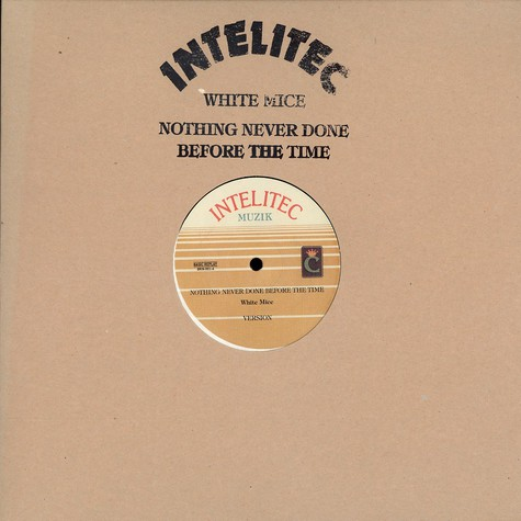 White Mice - Nothing never done before