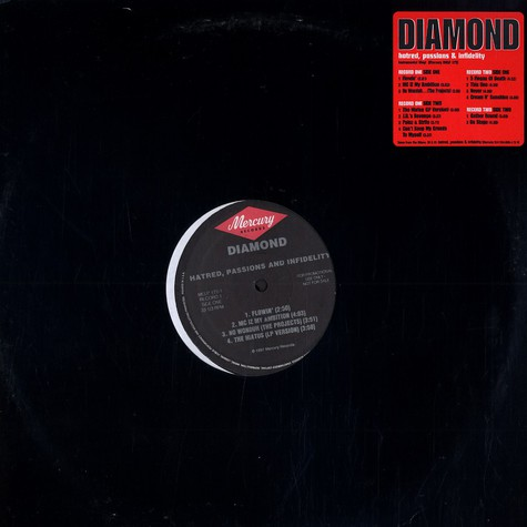 Diamond D - Hatred, passions & infidelity instrumentals