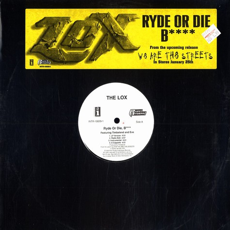 Lox - Ryde or die bitch