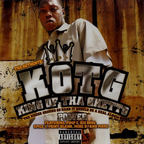 Z-Ro aka KOTG (King Of Tha Ghetto) - Power
