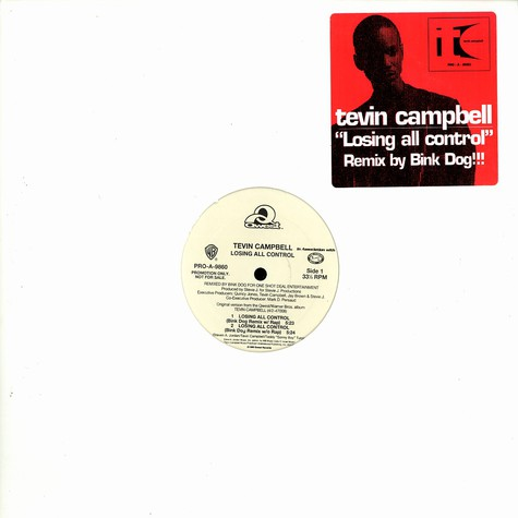 Tevin Campbell - Losing all control remix