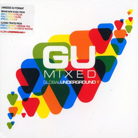 Global Underground presents - GU mixed limited edition
