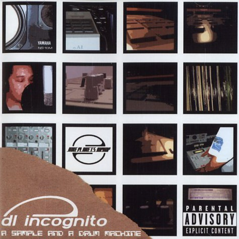 DL Incognito - A sample and a drum machine