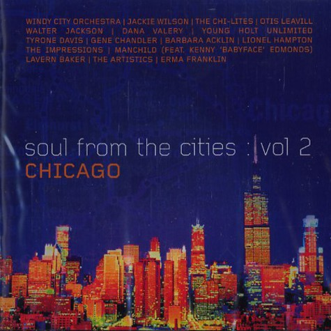 Soul From The Cities - Volume 2: Chicago
