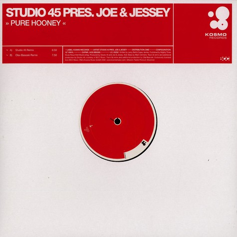 Studio 45 presents Joe & Jessey - Pure hooney