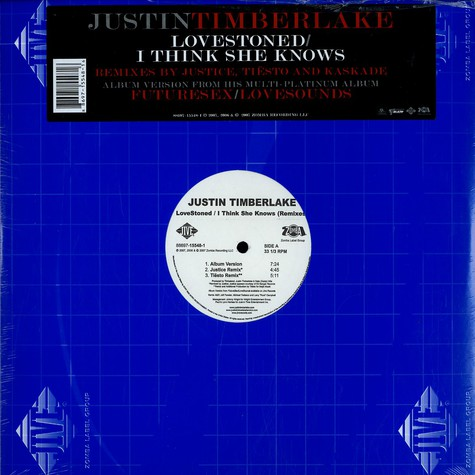 Justin Timberlake - Lovestoned / I think she knows remixes