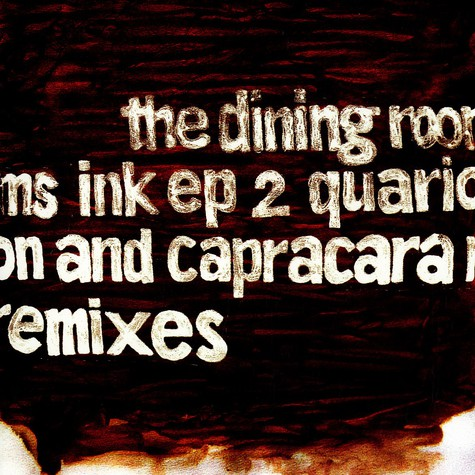 Dining Rooms, The - Ink EP  2