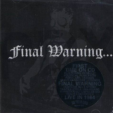 Final Warning - Pdx