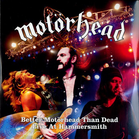Motörhead - Better Motörhead than dead live at Hammersmith