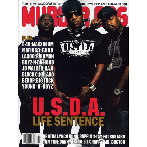 Murder Dog Mag - Volume 14 Number 3