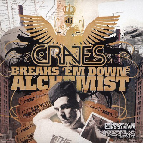 DJ Crates - Breaks 'em down volume 5 - Alchemist