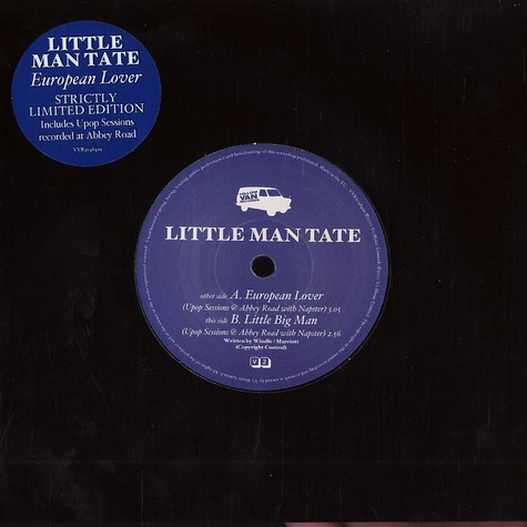 Little Man Tate - European lover Upop sessions