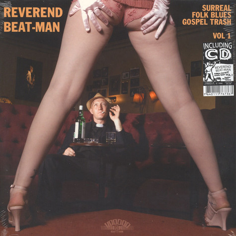 Reverend Beat-Man - Surreal Folk Blues Gospel Trash Volume 1