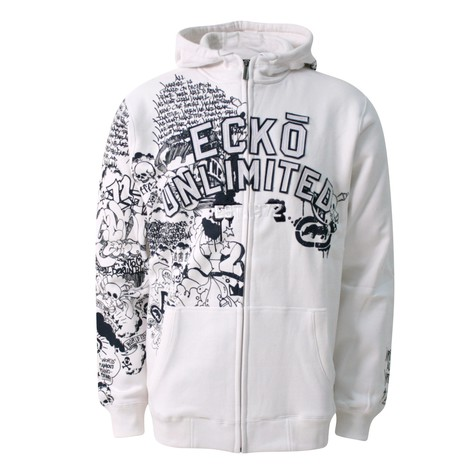 Ecko Unltd. - So one sided zip-up hoodie
