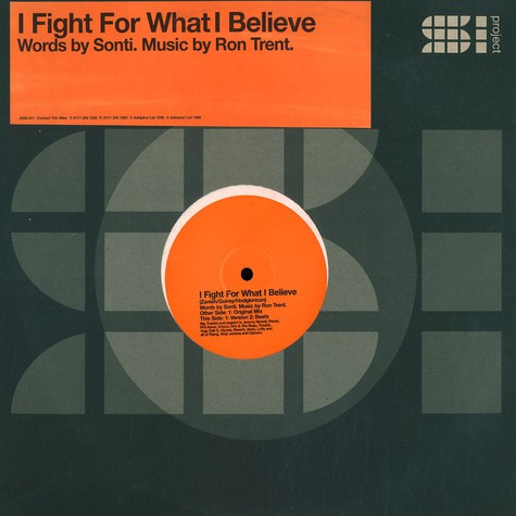 Ron Trent & Sonti - I fight for what i believe