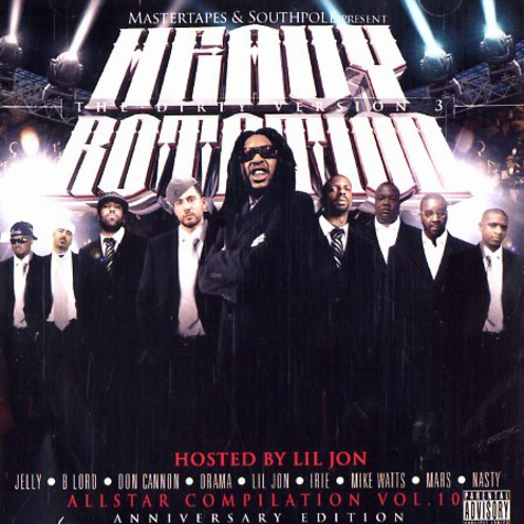 Heavy Rotation Allstar DJs - Heavy rotation all star compilation volume 10
