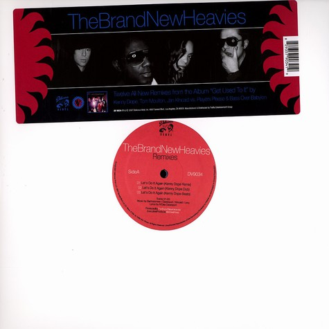 Brand New Heavies, The - Get used to it remixes