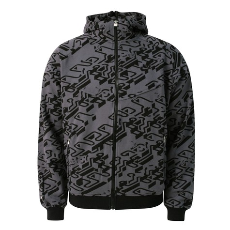 Nike - Buro destruct zip-up hoodie