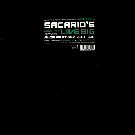 Sacario - Live big Remix feat. Angie Martinez & Fat Joe