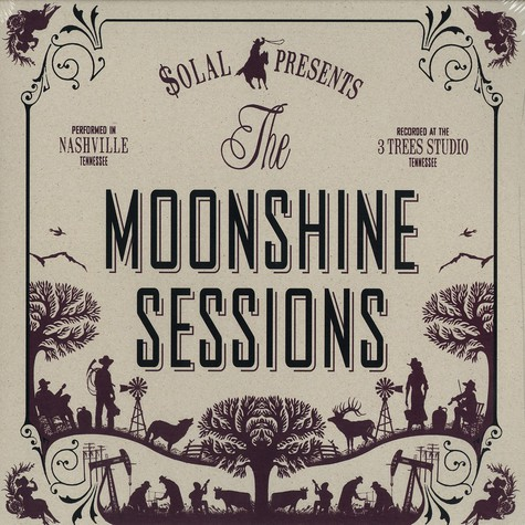 Solal presents The Moonshine Sessions - The Moonshine Sessions