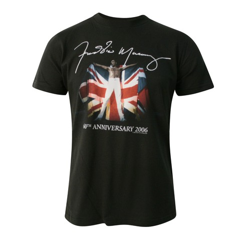 Freddy Mercury - British flag T-Shirt