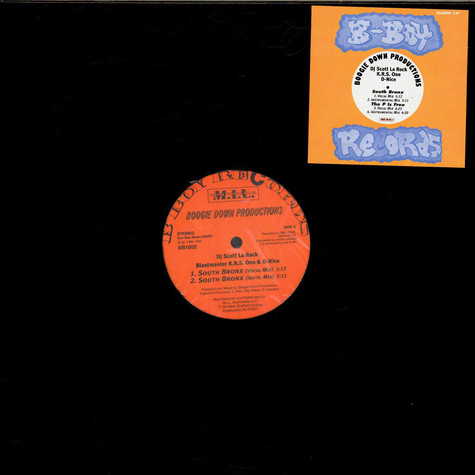 Boogie Down Productions - South Bronx