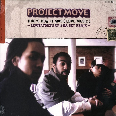 Project Move (Electric) - That's how it was (love music) Levitatorz remix