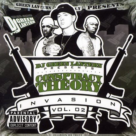 DJ Green Lantern - Conspiracy theory - invasion volume 2