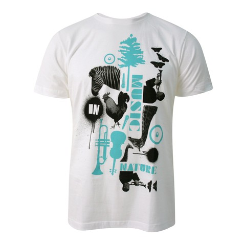 Ubiquity - Music in nature T-Shirt