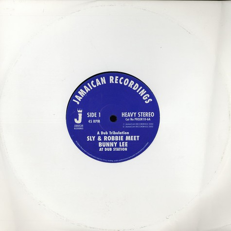 Sly & Robbie meet Bunny Lee - At dub station