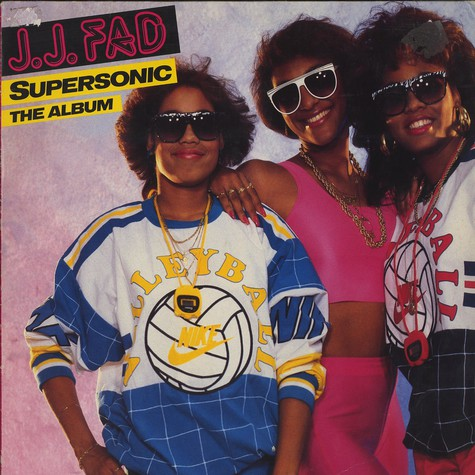 J. J. Fad - Supersonic the album