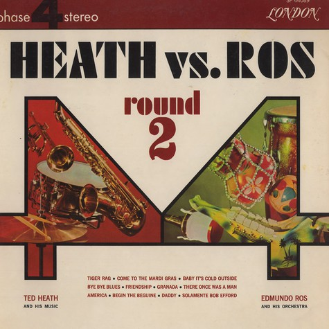 Ted Heath & Edmundo Ros - Heat vs. Ros round 2