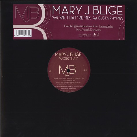 Mary J. Blige - Work that remix feat. Busta Rhymes