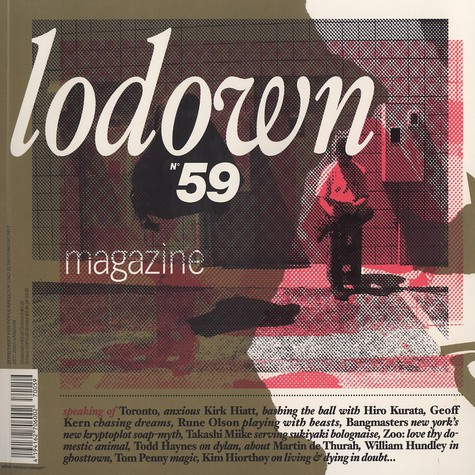 Lodown Magazine - Issue 59 December 2007 / January 2008