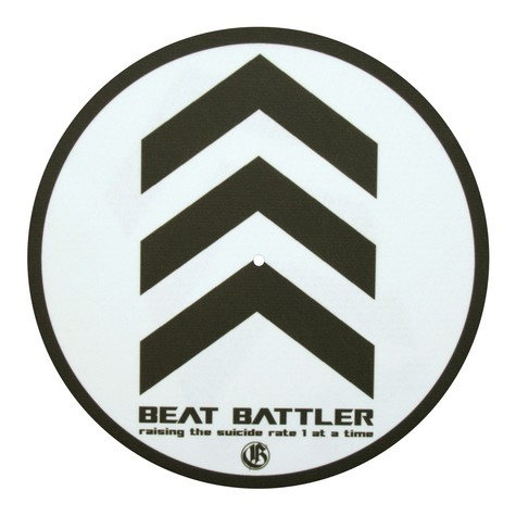 Glowtronics - Beat Battler Glow In The Dark Slipmat
