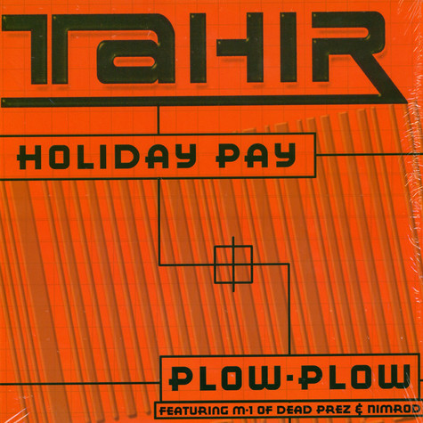 Tahir of Hedrush - Holiday pay