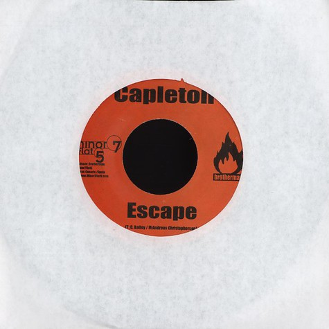 Capleton / Hydroman - Escape / Energy