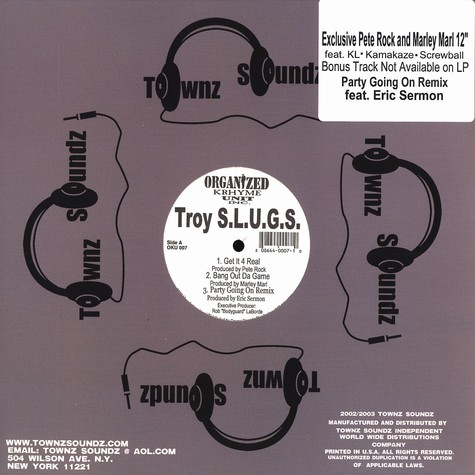 Troy S.l.u.g.s. - Get It 4 Real