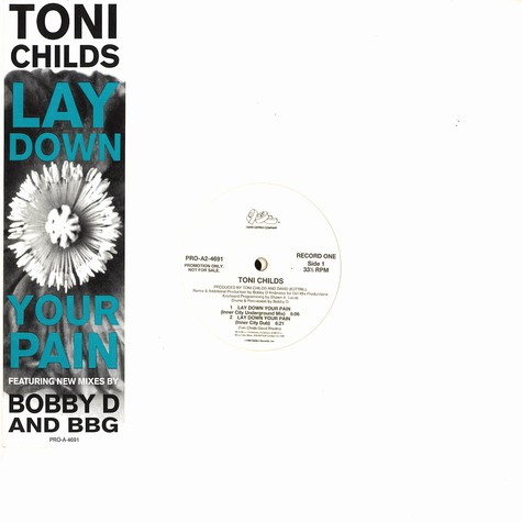 Tony Childs - Lay down your pain