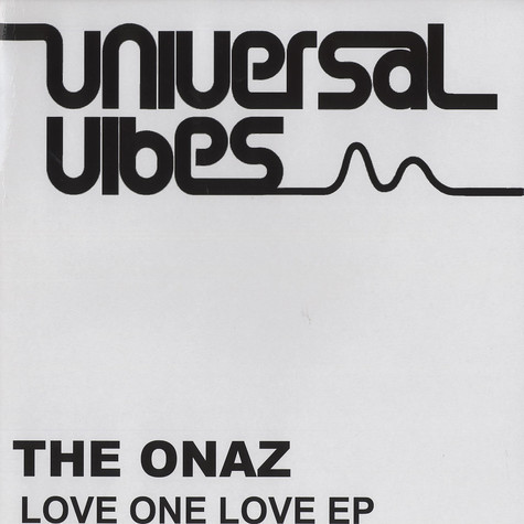 Onaz, The - Love one love EP