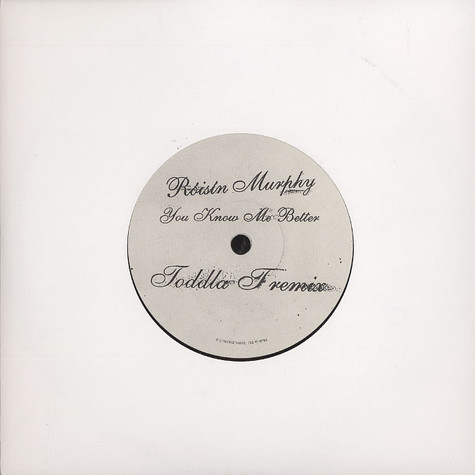 Roisin Murphy - You know me better Toddla T remix