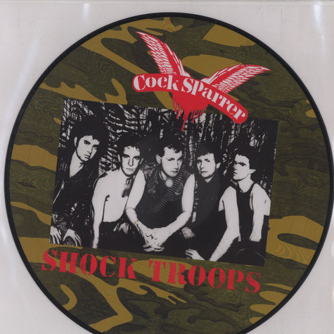 Cock Sparrer - Shock troups