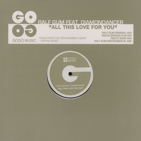 Ralf Gum - All this love for you
