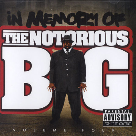 Notorious B.I.G. - In memory of Notorious B.I.G. volume 4