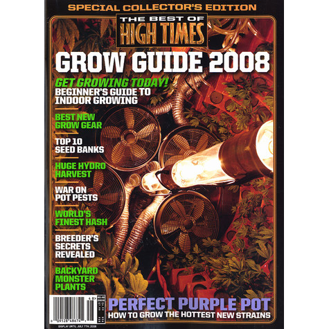 High Times Magazine - Grow guide 2008 - the best of High Times