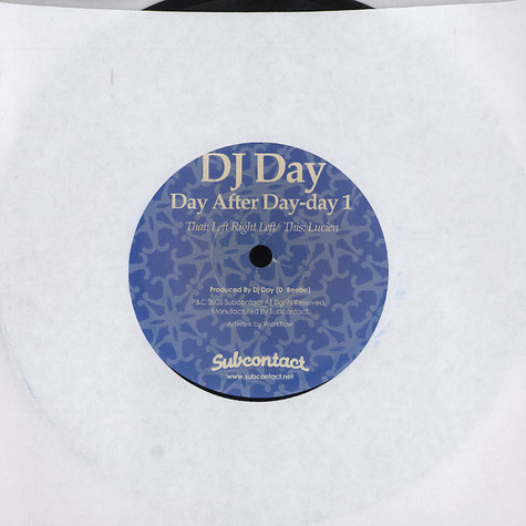 DJ Day - Day after day - day 1