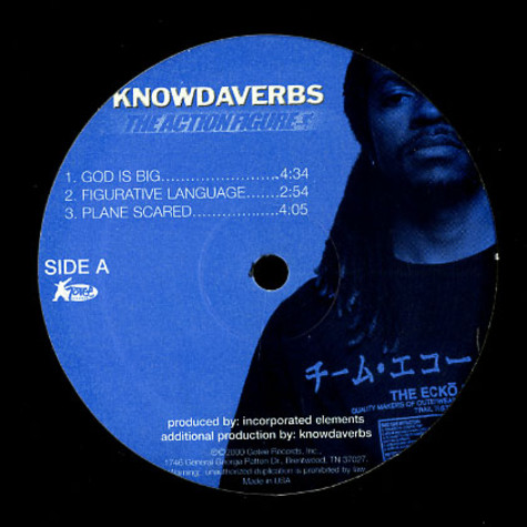 Knowdaverbs - The action figure EP