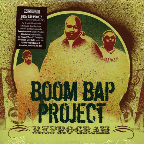 Boom Bap Project - Reprogram