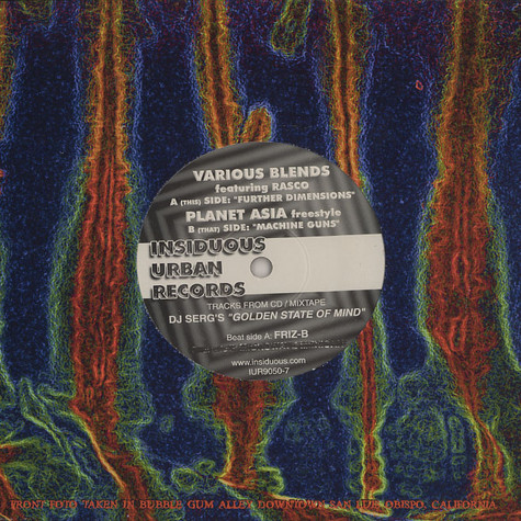 Various Blends - Further dimensions feat. Rasco